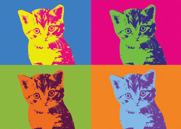 warhol-cat